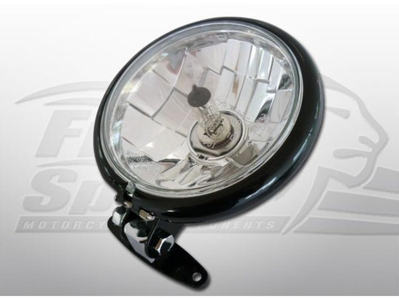 "Free Spirits Low Headlight ""Direct Fit"" for Triumph Twins"