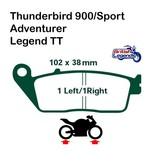 Ferodo Plaquettes Ferodo pour Triumph Legend TT 900