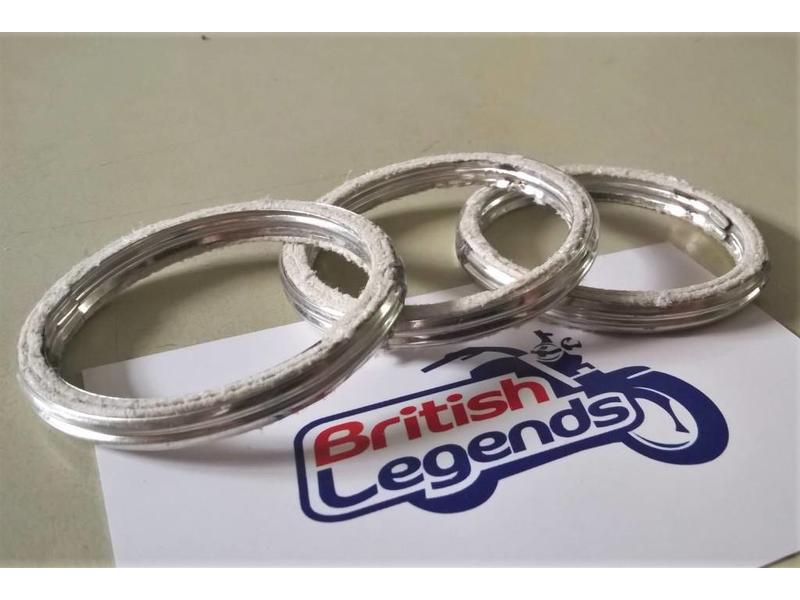 Exhaust Gasket Seals for Triumph motorcycles