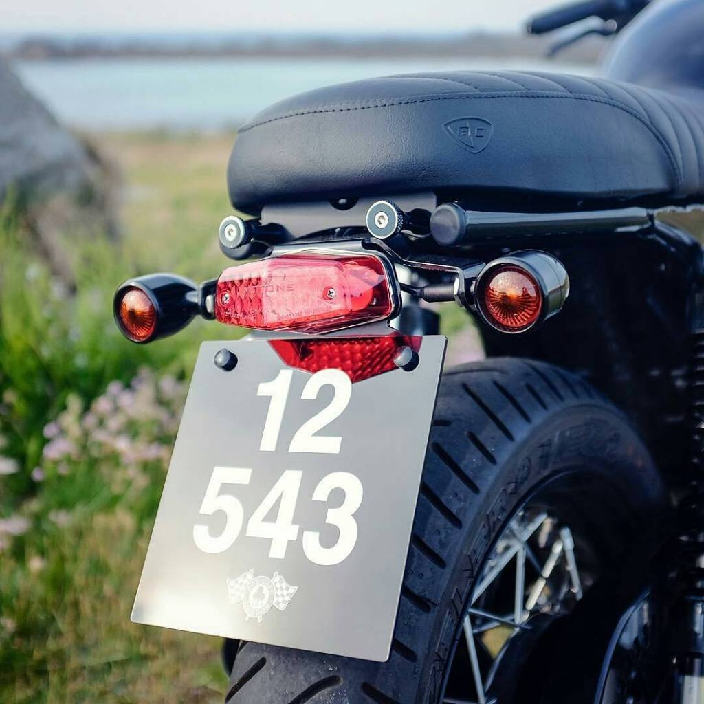 Tail Tidy For A No Fender Rear On Bonneville Thruxton And