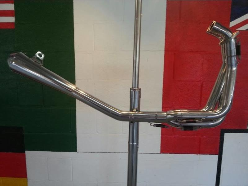 "MASS Moto 3-into-1 ""Tromb"" Exhaust System (Stainless Steel)"