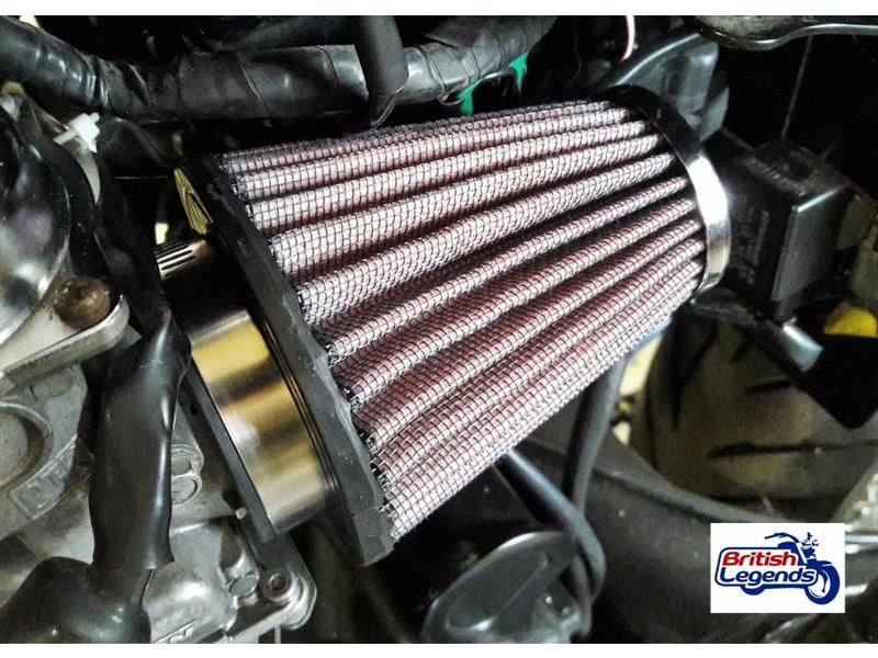 K&N Cone Air Filters for Triumph Twins