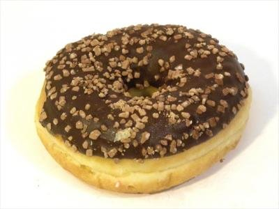 donut Chocolade Nuts