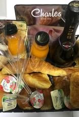 Verwen ontbijtmand voor 2 personen