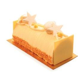Kerststronk creme au beurre vanille 16cm