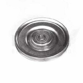 Krial Kabelschijf 60 of 80mm verzinkt staal