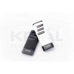 Krial Drie-kanaals handzender White/Black