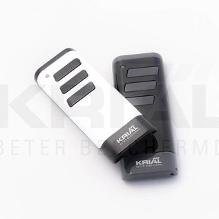 Tormatic Drie-kanaals handzender White/Black