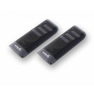 Krial Motorkop Black series met 2 handzenders