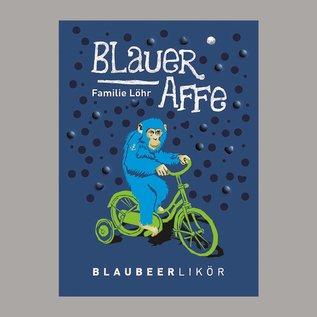 """Familie Löhrs """"Blauer Affe"""" - Blaubeerlikör mit Cassis"""