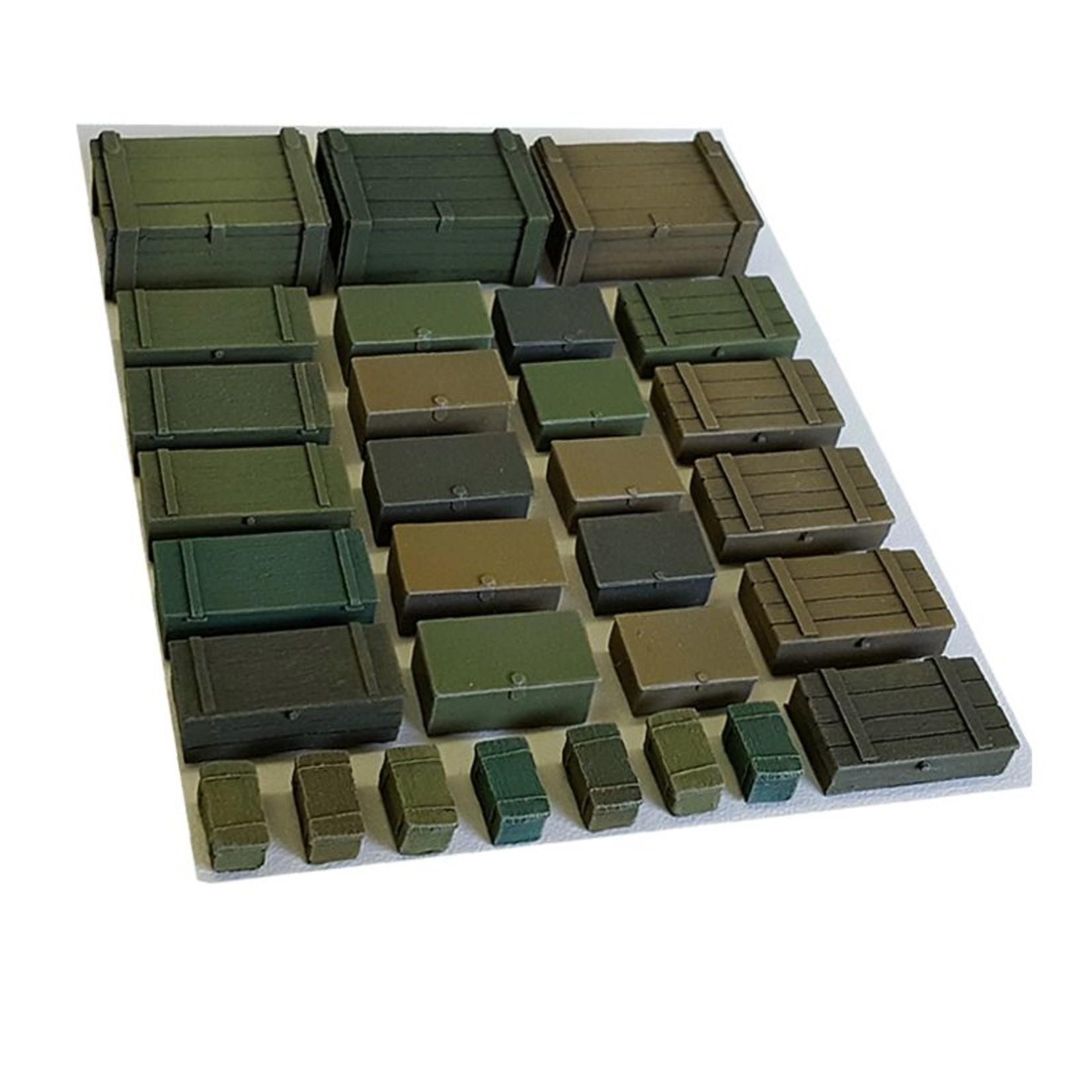 Ammunition boxes 30 pieces