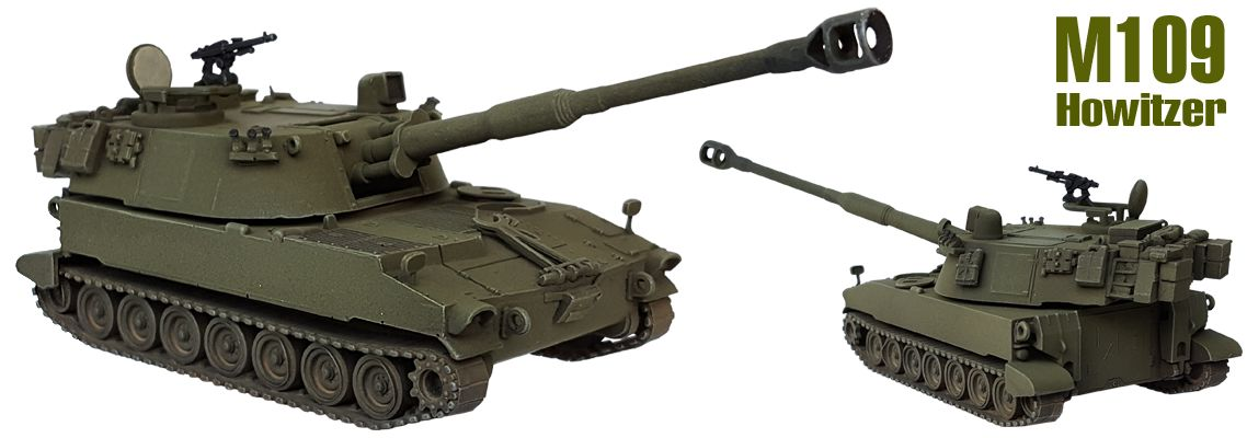 M109 Howitzer 155 mm Self propelled gun