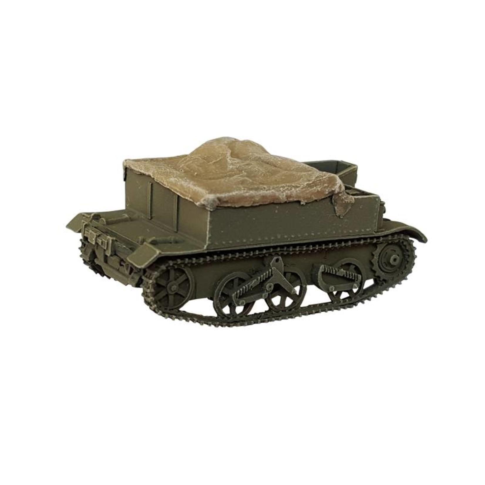 Bren Carrier with Tarpaulin