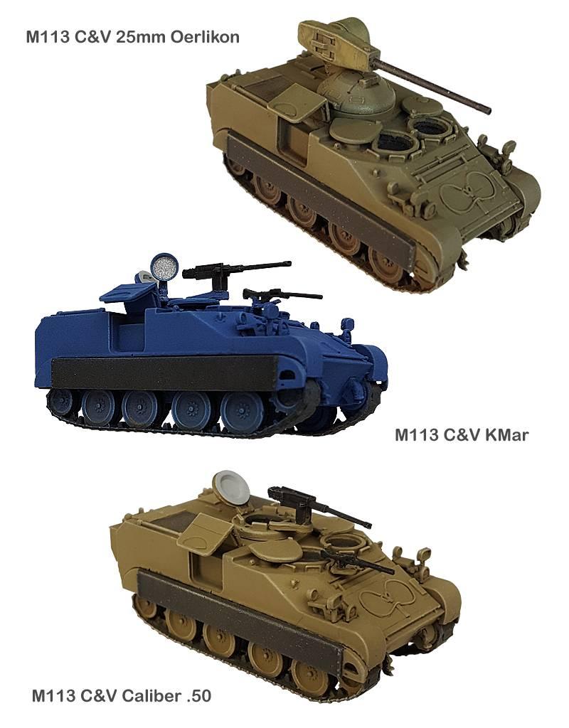 M113 Commando & Verkenning Caliber .50