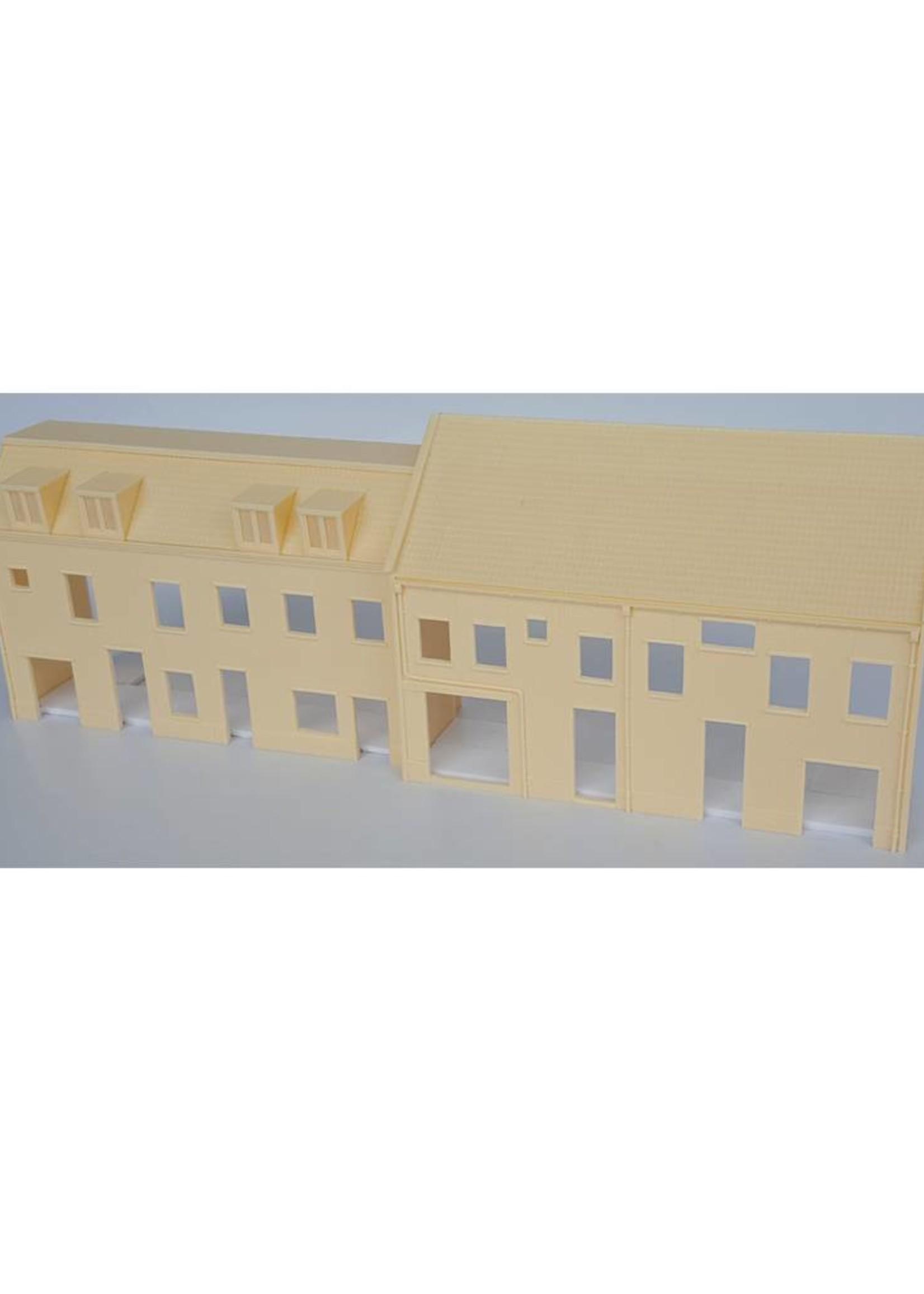 Facade city house