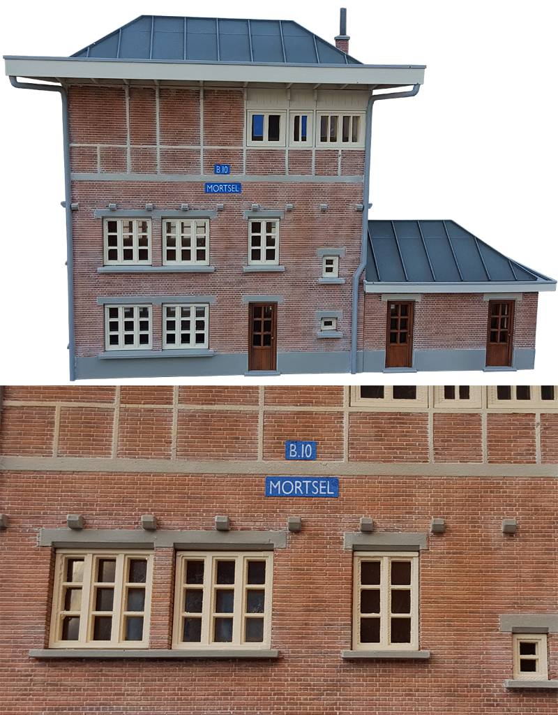 Blokpost 10 te Mortsel /  België