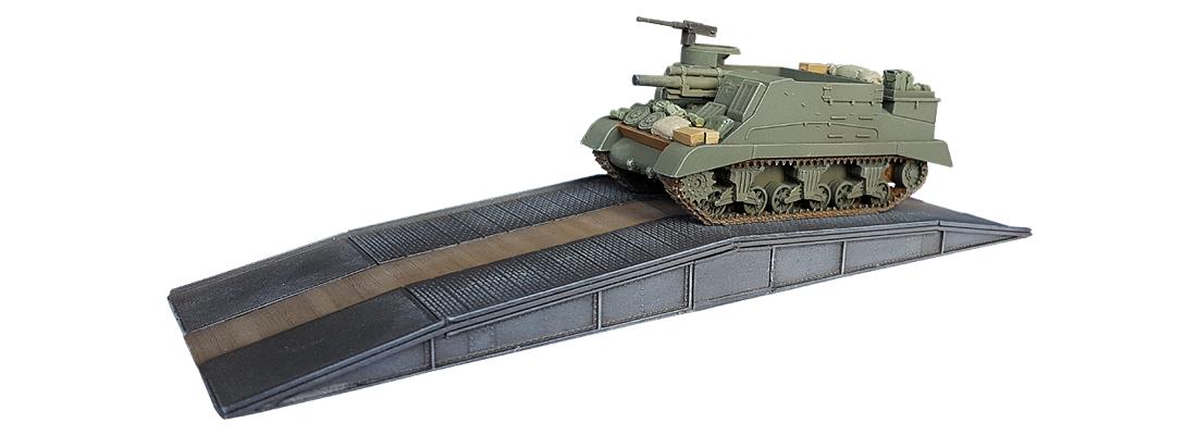 Noodbrug 1/87 H0 Resin modelbouwpakket