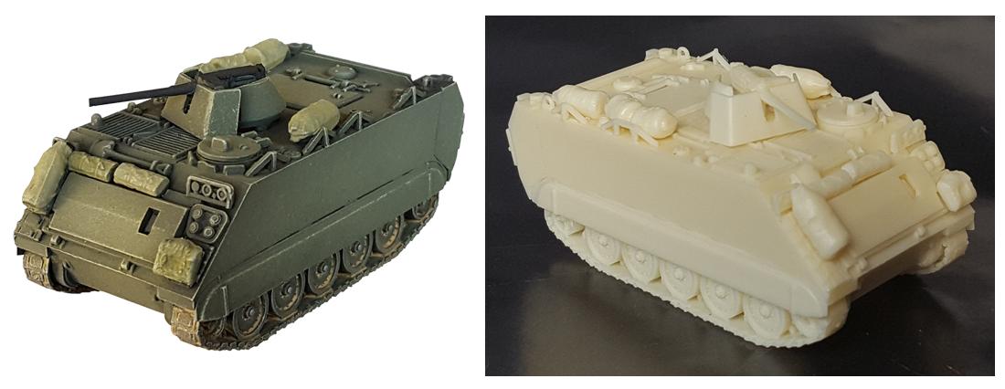M113 ACAV 1/87 H0 Resin bouwpakket