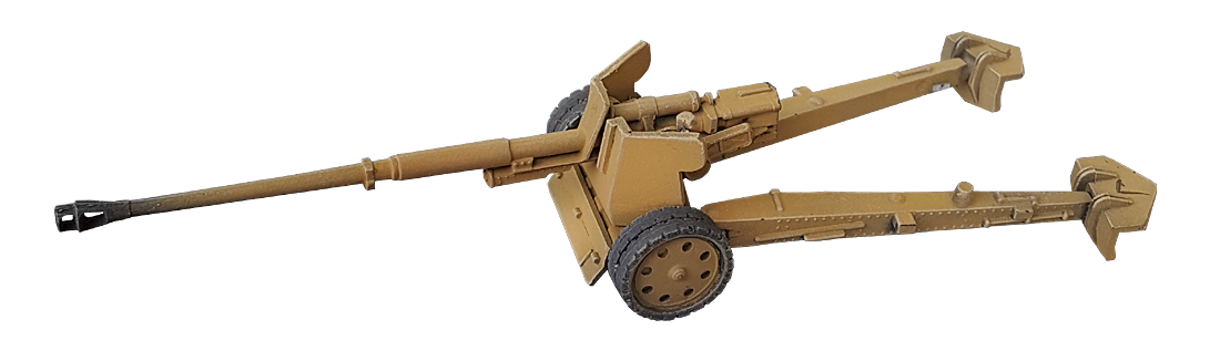 PAK 43 88mm 1/87 H0 Model bouwpakket uit resin.
