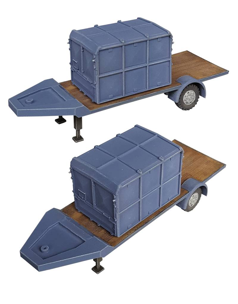 Trailer & container