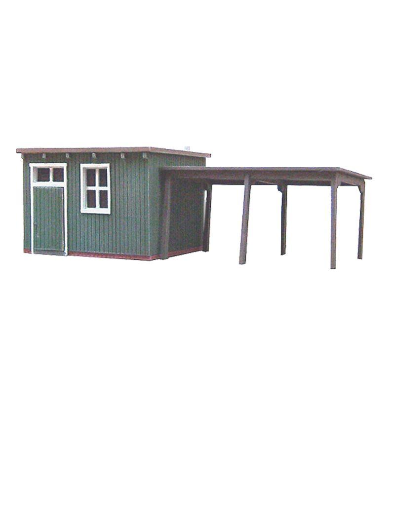 "Wooden garden shed ""C"""