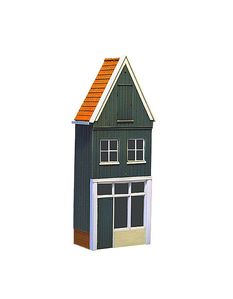 Wood facade