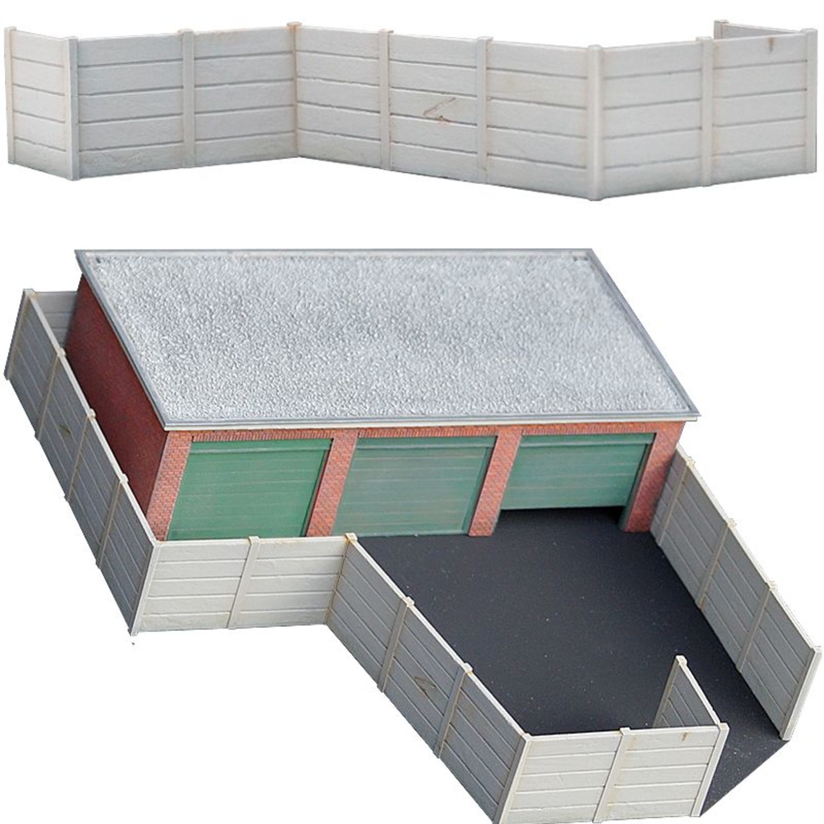"""Concrete fence """"Double sided"""""""
