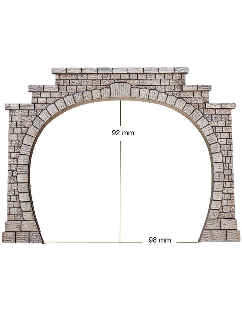 Tunnel ingang en uitgang