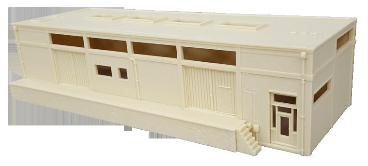 Resin bouwpakket Koelhuis