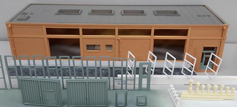Schilderen modelbouwpakket in resin.