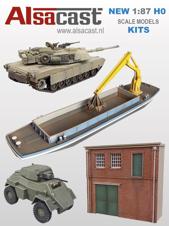 AlsaCast new scale models of 2021.
