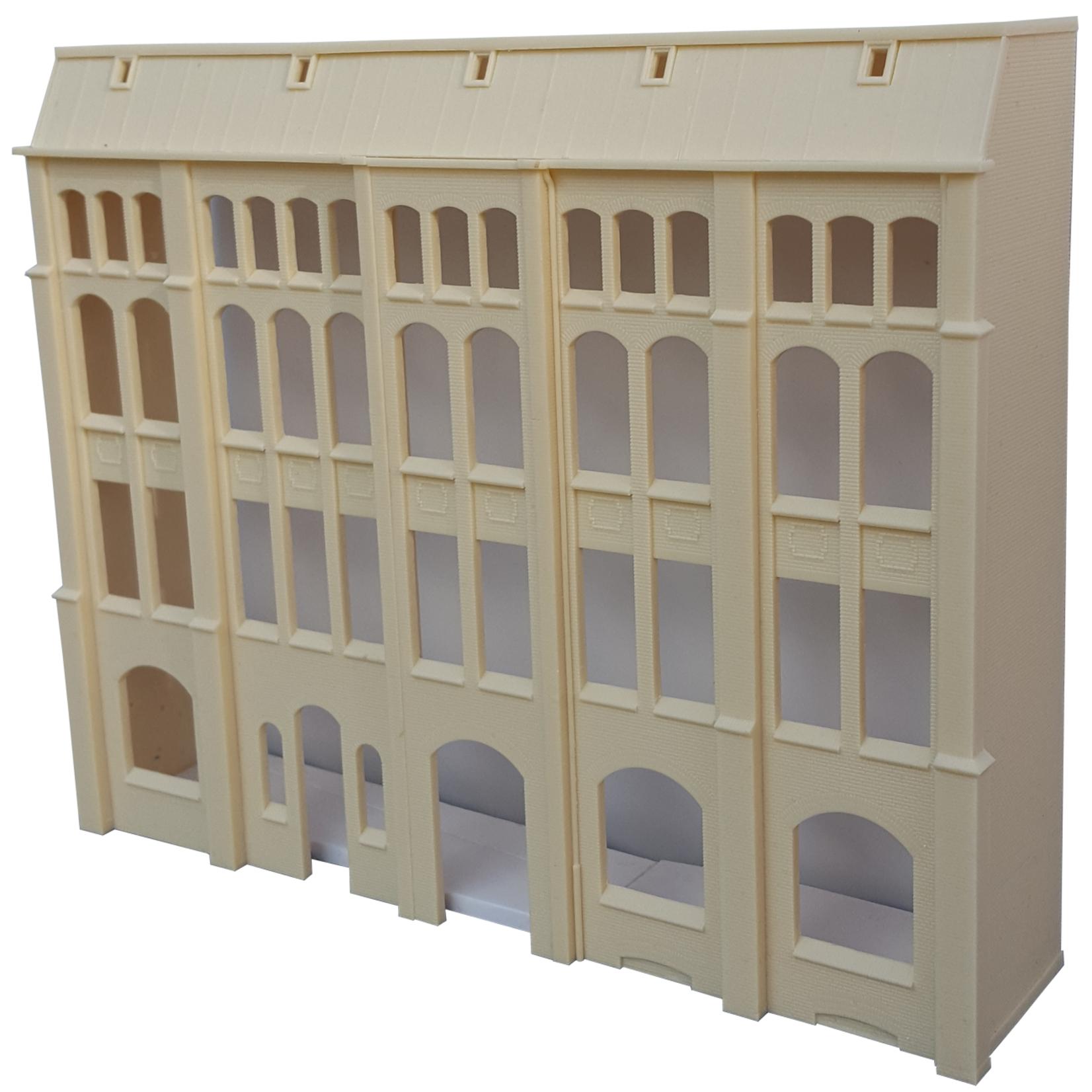 Industrial facade Neulander Str. 2