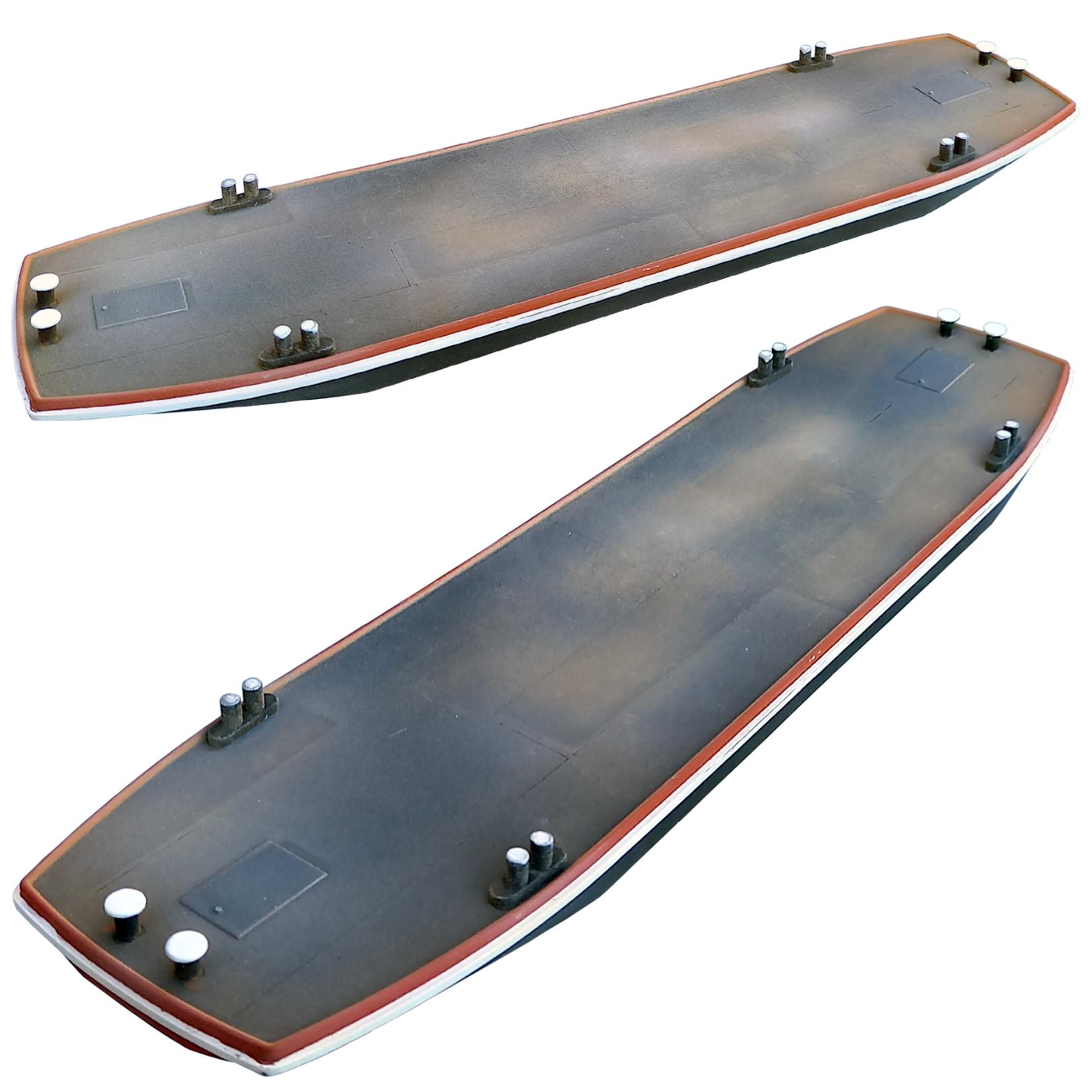 Pontoon Flat-bottomed boat