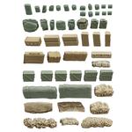 Militaire accessoires 50x pcs