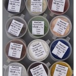 Set pigment powder 12x color