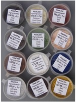 Set pigment powder 12x color
