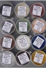 Set pigmentpoeder 12 kleuren