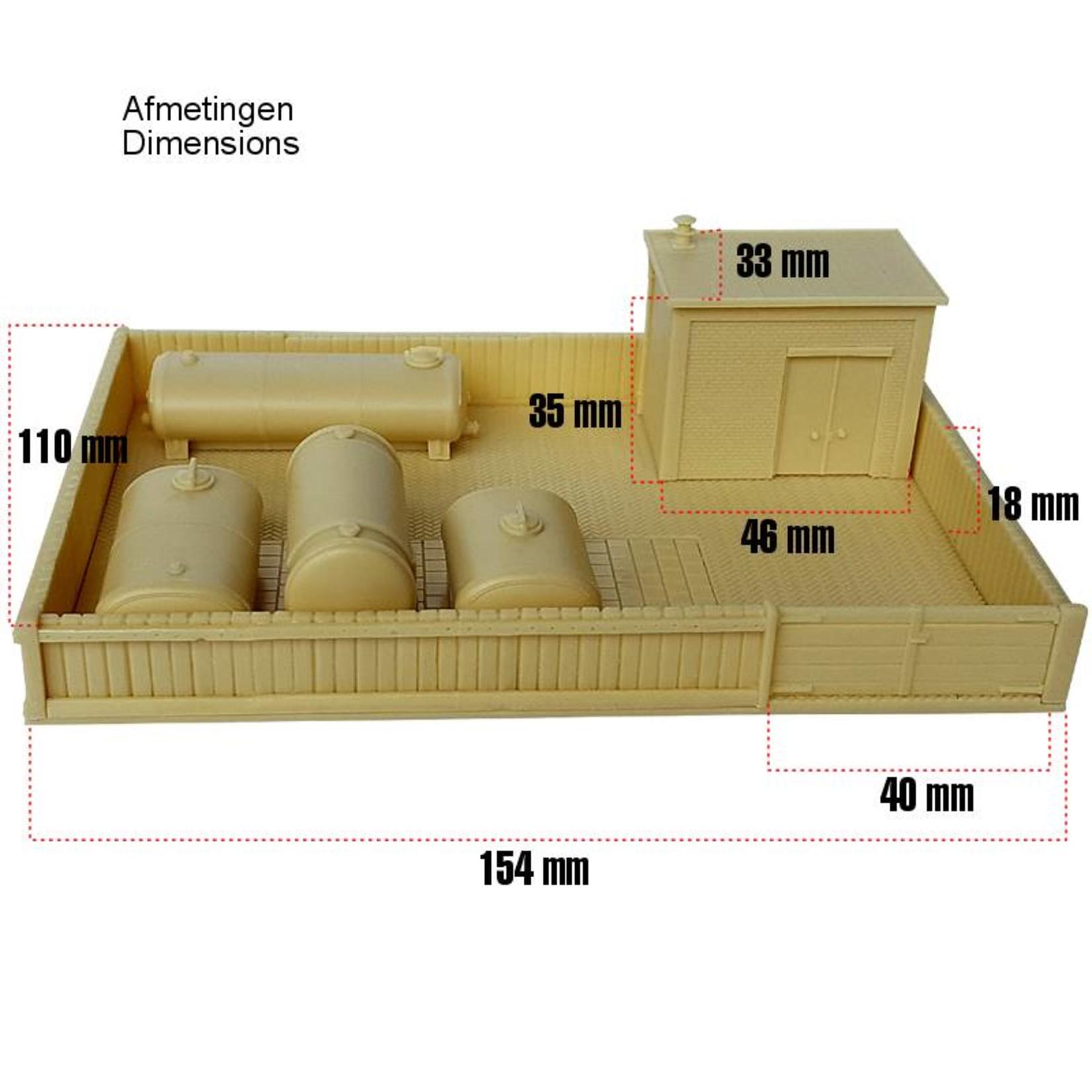 Trade in storage tanks