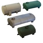 4 pieces Storage tanks