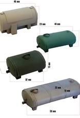 4 pieces Storage tanks