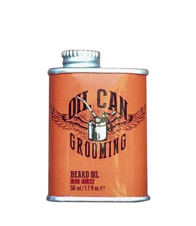 Oil Can Grooming Baard Olie - Iron Horse