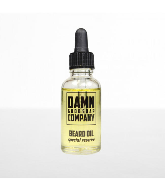 Damn Good Soap Baard Olie - Special Reserve