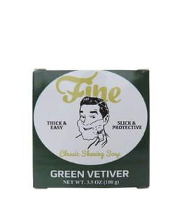 Fine Accoutrements Classic Shaving Soap - Green Vetiver