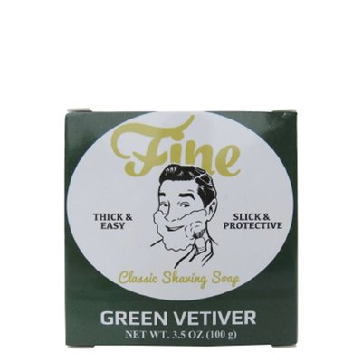 Classic Scheerzeep - Green Vetiver