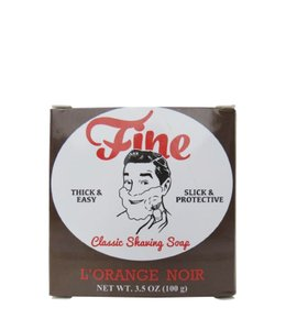 Fine Accoutrements Classic Shaving Soap - L'Orange Noir