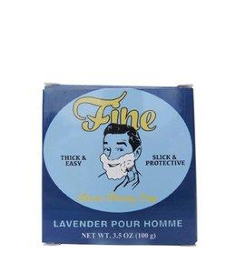 Fine Accoutrements Classic Scheerzeep - Lavender pour Homme