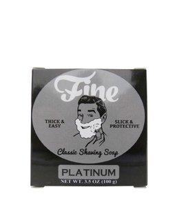 Fine Accoutrements Classic Scheerzeep - Platinum