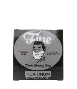 Fine Accoutrements Classic Shaving Soap - Platinum