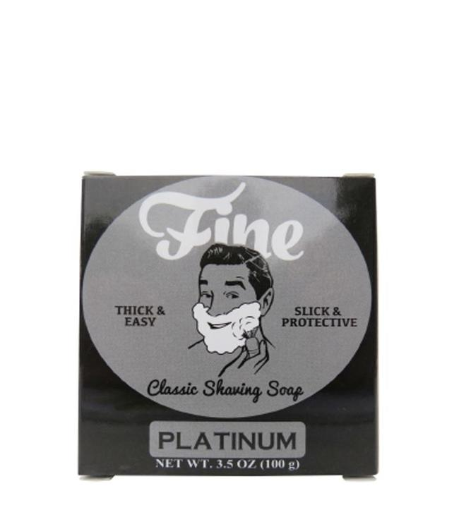 Fine Accoutrements Classic Shaving Soap - Platinum