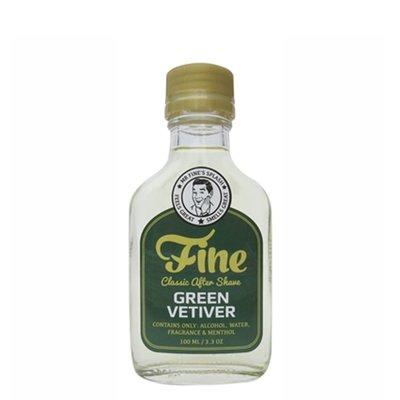 Classic Aftershave Green Vetiver
